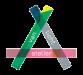 Het logo van Atelier van Licht